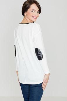 LENITIF - Sweter K118 Ecru