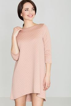 LENITIF - Sukienka K134 Róż