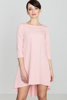LENITIF - Sukienka K141 Róż