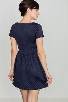 LENITIF - Sukienka K147 Granat