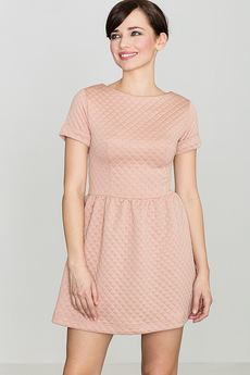 LENITIF - Sukienka K147 Róż