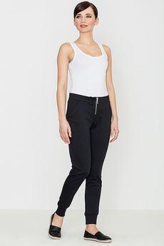 LENITIF - Spodnie K153 Czarny