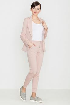 LENITIF - Spodnie K153 Róż
