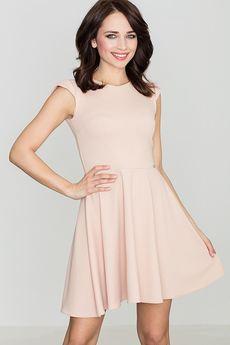 LENITIF - Sukienka K162 Róż