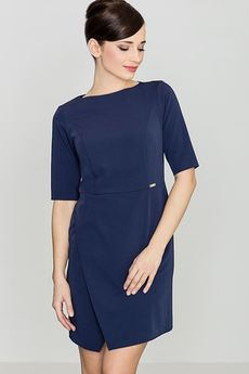 LENITIF - Sukienka K200 Granat