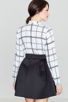 LENITIF - Spódnica K228 Czarny