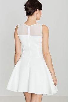 LENITIF - Sukienka K238 Ecru