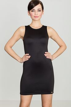 LENITIF - Sukienka K243 Czarny