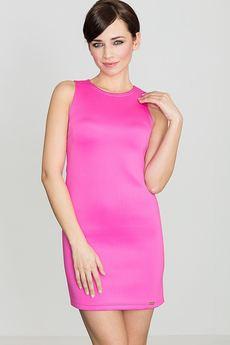 LENITIF - Sukienka K243 Fuksja