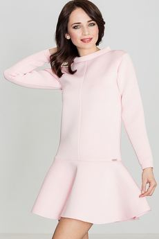 LENITIF - Sukienka K247 Róż