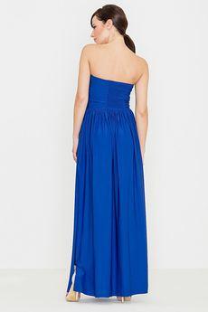 LENITIF - Sukienka K252 Niebieski