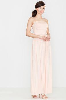 LENITIF - Sukienka K252 Róż