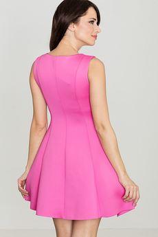 LENITIF - Sukienka K255 Fuksja
