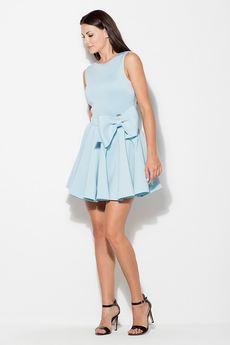 KATRUS - Sukienka K271 Niebieski