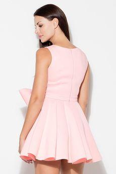 KATRUS - Sukienka K271 Róż