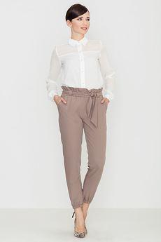 LENITIF - Spodnie K296 Mocca