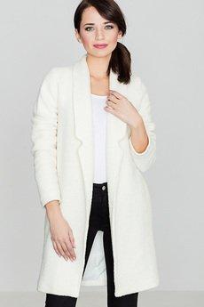 LENITIF - Płaszcz K406 Ecru