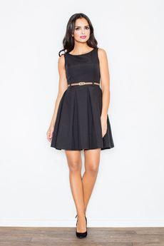 FIGL - Sukienka M083 Czarny
