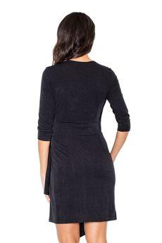 FIGL - Sukienka M223 Czarny