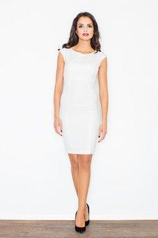 FIGL - Sukienka M378 Ecru