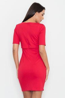 FIGL - Sukienka M446 Czerwony