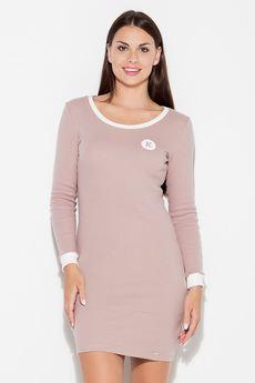 KATRUS - Sukienka K452 Róż