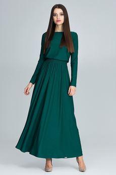 FIGL - Sukienka M604 Zielony