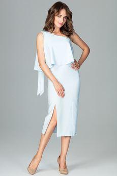 LENITIF - Sukienka K489 Błękit