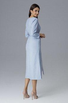 FIGL - Sukienka M631 Błękit