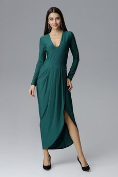 FIGL - Sukienka M636 Zielony