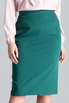 LENITIF - Spódnica L029 Zielony