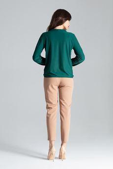 LENITIF - Bluzka L030 Zielony