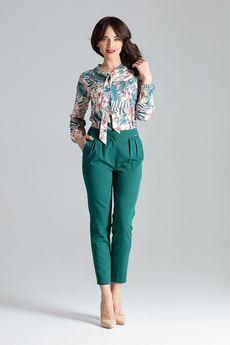LENITIF - Spodnie L028 Zielony