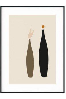 myscandishop - Plakat w stylu Boho Abstrakcja no. 1