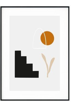 myscandishop - Plakat w stylu Boho Abstrakcja no. 8
