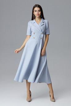 FIGL - Sukienka M632 Błękit