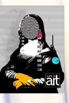 "Life is ART - T-shirt : "" Mona Lisa "" XXI"