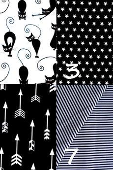 Karolina Audycka - Duża torba w pastelowe wzory