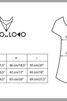 Lobo Loco - Koszulka damska Leniwe mopsy