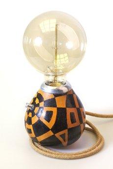 Yerba Light - Lampa Yerba Light № 0040 (rękodzieło)