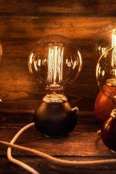 Yerba Light - Lampa Yerba Light № 0028 (rękodzieło)