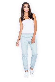 FIGL - Spodnie M307 Błękit