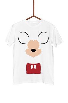 FailFake - Koszulka Minimalistyczna Mickey Mouse Męska