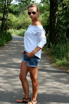 Szarymary - Bluzka asymetryczna oversize