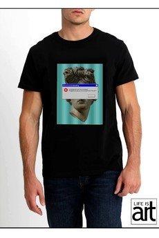 """Life is ART - T-shirt : """" głowa 2 """""""