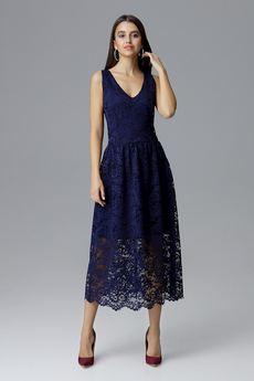FIGL - Sukienka M639 Granat