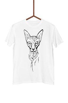 FailFake - Koszulka Czworooki Kot Męska