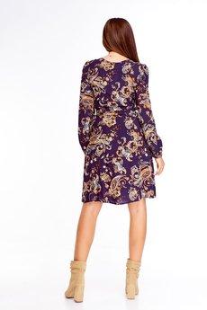 Bird - Sukienka w orientalne wzory