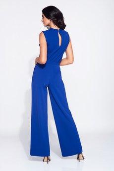 Bien Fashion - Wizytowy kombinezon damski bez rękawów na okazję
