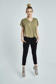 Giraffe - Spodnie Sara || organic cotton + kaszmir